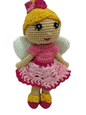 Amigurumi Soft Toy- Handmade Crochet- Fairy Doll