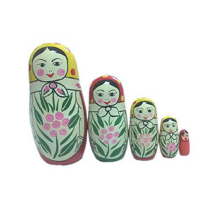 Funwood Games® Russian Nesting Doll for Girls